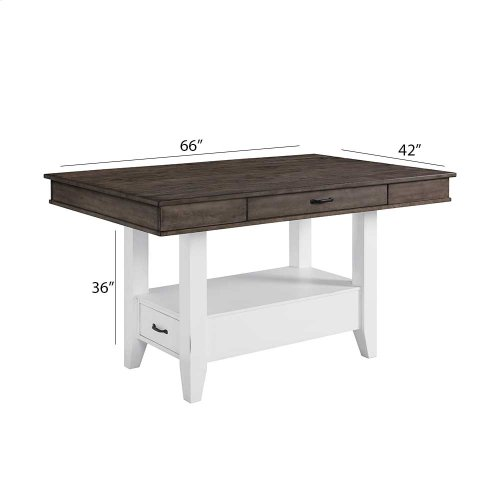 Dining - Belgium Farmhouse Counter Table w/Drawers