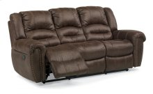 New Town Fabric Reclining Sofa