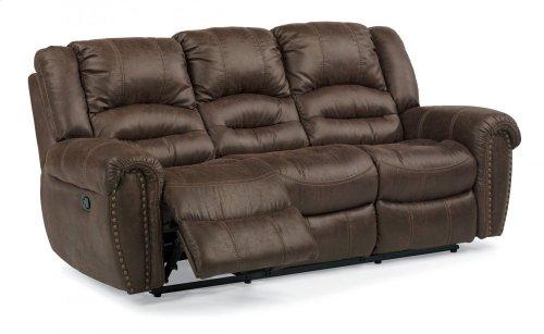 New Town Fabric Reclining Sofa
