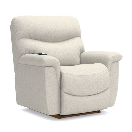 James PowerReclineXR® Reclina-Rocker® Recliner w/ Two-Motor Massage & Heat