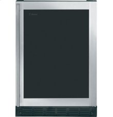 (DISCONTINUED FLOOR MODEL 1 ONLY) GE Monogram® Undercounter Wine Reserve with Liquid Crystal Window