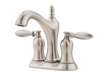 Brushed Nickel Arlington Centerset Bath Faucet