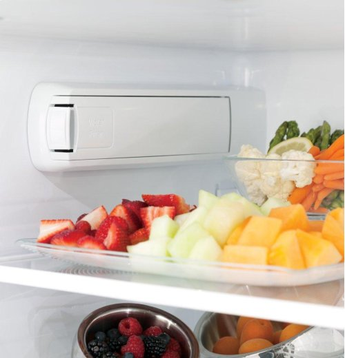 GE Profile Series ENERGY STAR® 22.2 Cu. Ft. Counter-Depth French-Door Refrigerator with Hands-Free AutoFill