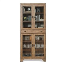 Sherborne Bunching Cabinet Toasted Pecan finish