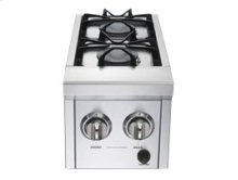 Pro Series double side burner w/ 30,000 BTUs - NG