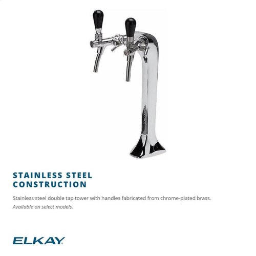 Column Tap Water Dispenser Stainless Steel