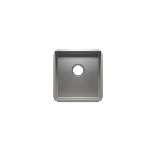"J7® 003909 - undermount stainless steel Kitchen sink , 15"" × 16"" × 8"""