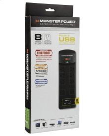 Core Power 800 8-Outlet Surge Protector with USB Charging