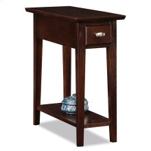 Chocolate Cherry Chairside/Recliner Table 10071-CH