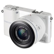 NX1100 20.3MP SMART Camera with 20-50mm Lens (White)