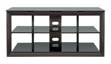 Versatile Dark Pewter Finish Audio/Video Furniture