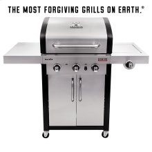 SIGNATURE TRU-INFRARED 3 BURNER GAS GRILL
