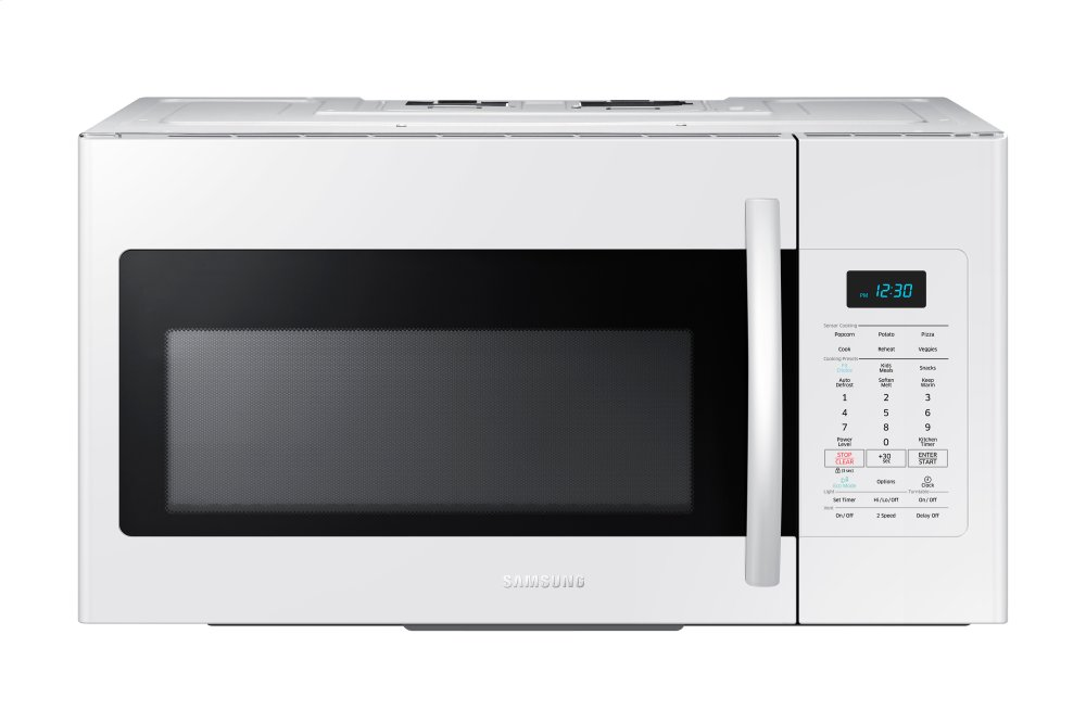 Me17h703shw Over The Range Microwave With Sensor Cook 1 7 Cu Ft