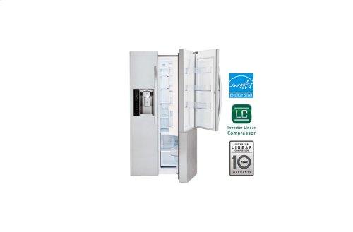 26. cu. ft. Ultra Capacity Side-By-Side Refrigerator with Door-in-Door®