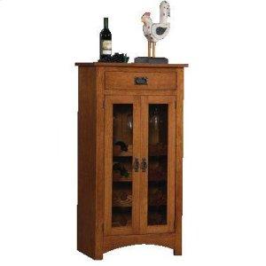 Gallatin Classic Mission Wine Cabinet
