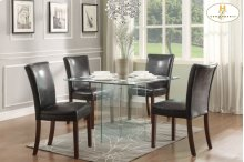 Dining Table, All Glass