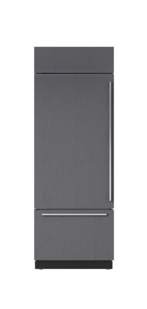 "30"" Built-In Over-and-Under Refrigerator/Freezer - Panel Ready"