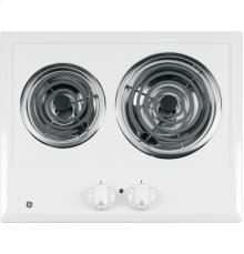 GE® Two Burner Electric Cooktop