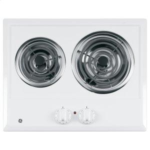 GE ®two Burner Electric Cooktop