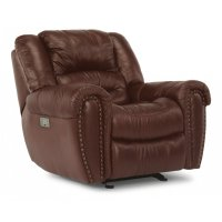 Crosstown Leather Power Recliner with Power Headrest Product Image