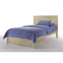 Cape Cod Sand Dollar Bed in Buttercream Finish