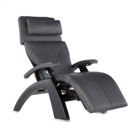 Perfect Chair PC-610 - Gray Premium Leather - Matte Black