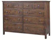 Alder Heritage 10 Drawer Dresser Product Image