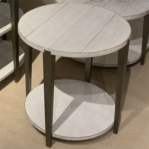 Liberty Furniture Industries  Round End Table