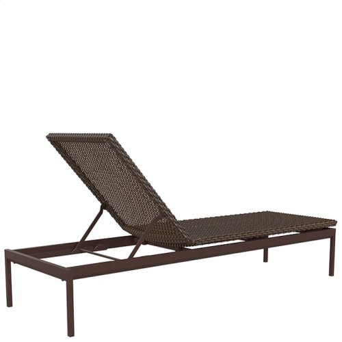 "Cabana Club Woven 15"" Armless Chaise Lounge"