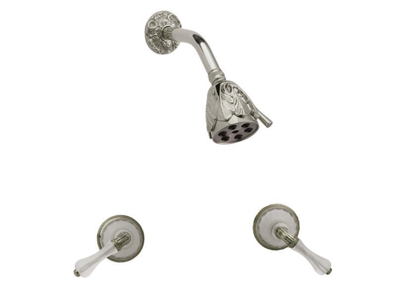 MIRABELLA Two Handle Shower Set K3234 - Polished Brass