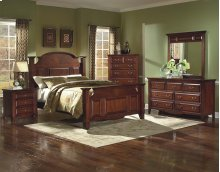Drayton Hall 6/0 WK Bed - 3 Drwr Night Stand