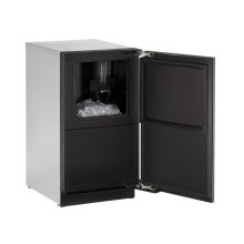 """18"""" Clear Ice Machine Integrated Solid Right-Hand Hinge (No Pump)"""