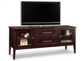 """Stockholm 74"""" HDTV Cabinet With Hutch"""