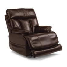 Clive Leather Power Recliner with Power Headrest