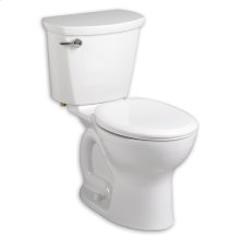 "White Cadet PRO Right Height Round Front Toilet 10"" Rough In"