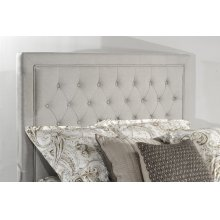 Kaylie Upholstered Panel Headboard - Queen - Dove Gray