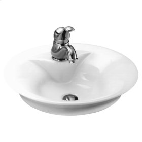 Morning Above Counter Bathroom Sink  American Standard - White
