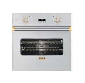 "27"" Single Custom Electric Select Oven, Brass Accent"