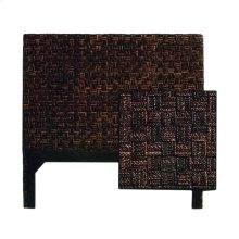 Queen Size Headboard, Checker Board Dark Finish Only.