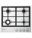 "Gas on Steel Cooktop 24"" 4 Burner Product Image"
