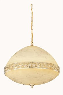 4720 Italia Collection Hanging Fixture Gold Finish (Swarovski Elements Crystal Clear)