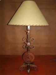 Texas Seal Metal Lamp Product Image