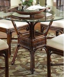 Tahiti Indoor Rattan & Bamboo Round Dining Table