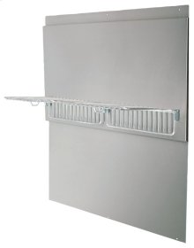 Professional Range Hood Series Back Splash with Warming Shelves