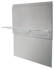 Professional Range Hood Series Back Splash with Warming Shelves