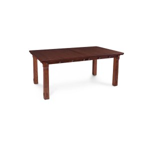 MaRyan Leg Table, Solid Top