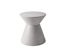 Astley End Table - White