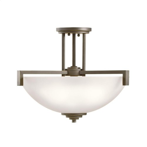 Eileen Collection Eileen 3 light Pendant/Semi Flush OZ