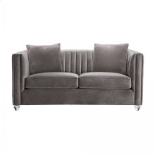 Armen Living Emperor Contemporary Loveseat
