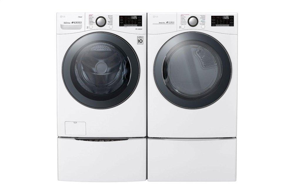 WM3900HWA LG Appliances 4 5 cu ft  Smart wi-fi Enabled Front